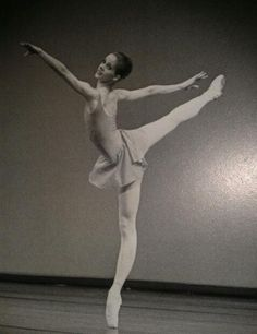 Darcey Bussell- Age 17 in Royal Ballet School Performance of Macmillan's Concerto.