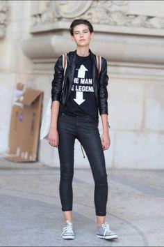 Paris Fashion Week - Street Style    image c/o: FabSugar