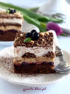 Sezamkowiec – Zjem to! Cake Bars, Dessert Bars, Polish Recipes, Coffee Cake, Ale, Cake Recipes, Sweet Tooth, Cheesecake, Food And Drink