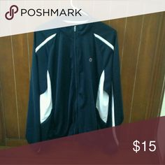 Men's Large Lightweight Jogger/Jacket Men's Large zipper lightweight jogger/jacket.  Like new/excellent condition, has one snag as noted in picture. Champion Jackets & Coats Lightweight & Shirt Jackets