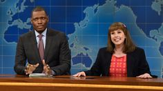 Laura Parsons (Vanessa Bayer) delivers the latest news, including Donald Trump allegedly groping a woman on a plane and Ken Bone's Reddit comments about Jennifer Lawrence. [Season 42, 2016]