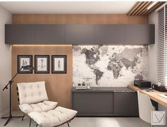 Trendy home office job ideas that look beautiful - Home Design Office Interior Design, Office Interiors, Room Interior, Interior Design Living Room, Office Designs, Small Office Design, Interior Painting, Small Home Offices, Home Office Space