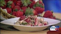 CHESTERLAND, Ohio -- Culinary instructor Stefanie Paganini has lots of great ideas for no-fuss delicious summer suppers. In fact she is teaching a cooking class called 'Simple Summer Meals' and she shared one of the featured recipes with Fox 8's Kristi Capel.  Click here to learn more about Stefanie's class 'Simple Summer Meals' and other culinary classes offered at the Loretta Paganini School of Cooking.