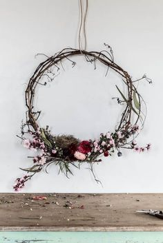 I really love making wreaths. Their circular shape is so pleasing to the eye. You can make them without spending a cent and they can last for a very long time, either by choosing foliage and flowers that dry well, like gum leaves and hydrangeas, or by replacing the more perishable additions whenever they start to look too grim. As someone who loves to read articles called How to Boil and Egg and How to Fold a Fitted Sheet, I feel no shame in posting a how-to that will, for ...