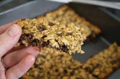 Making Mama's Kitchen: Chewy Chocolate Oatmeal Bars