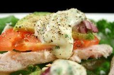 Look for high-fiber salads on the menu of fast food restaurants.