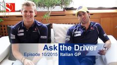 Our video from Italy. Fans ask questions, Marcus Ericsson and Felipe Nasr answer. Marcus Ericsson, Video Team, Keep Fighting, F 1, Formula One, Polo Ralph Lauren, F1 Season, This Or That Questions, Mens Tops