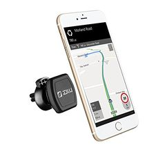 ZILU CM006 Air Vent Car Mount Magnetic Cell Phone Holder for iPhone 7 Plus 6s Plus SE Andorid and other Smartphones-Retail Packaging