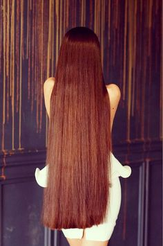 Long beautiful hair fixation