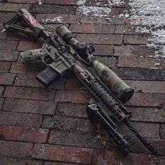 No photo description available. Military Weapons, Weapons Guns, Guns And Ammo, Tactical Rifles, Firearms, Shotguns, Sniper Rifles, Tactical Survival, Shooting Guns