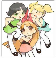 essas três menininhas são muito fofas né!!? :/>