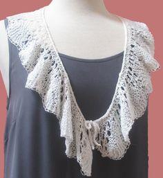 Belon scarf pattern