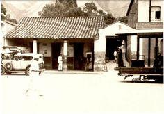 Av Sucre de Catia. (Note la altura del roda pie o zocalo) 1934