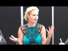 Rebecca Romijn of The Librarians Talks Working with Christian Kane Rebecca Romijn, Christian Kane, Librarians