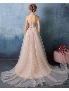 Vintage Style Strapless Floral Evening Dress