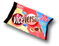 Vice Versa's my absolute favourite when I was a kid Old Sweets, Vintage Sweets, Retro Sweets, 1980s Childhood, My Childhood Memories, 1980s Toys, Retro Toys, Discontinued Food, 90s Food