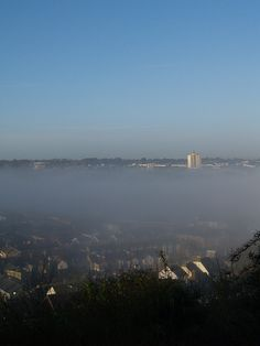 Mist over the Luton Valley
