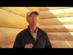 ▶ Energy efficient log cabin construction workshop - YouTube