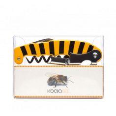 Sacacorchos de animales - y tú, que animal llevas dentro? Sacacorcho en dos tiempos de abeja - 12,90€