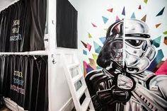 Resultado de imagem para graffiti star wars