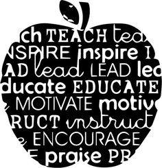 FREE SVG apples teacher blog posts - svg | The Craft Chop