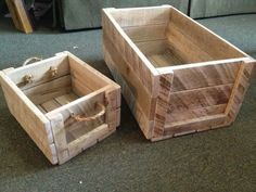 18 DIY Wooden Crate Ideas - Live DIY Ideas