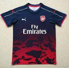 ec603562375 Arsenal Jersey 2017 18 Red Soccer Training Shirt Arsenal Fc