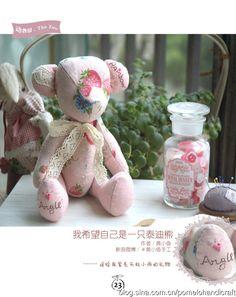 teddy bear tutorial and template