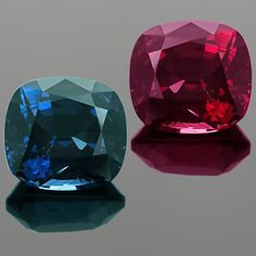 Rare color-change garnets from Madagascar rival Alexandrite in color.