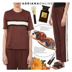 """ADRIANA ONLINE: Ganni"" by gaby-mil ❤ liked on Polyvore featuring Tom Ford"