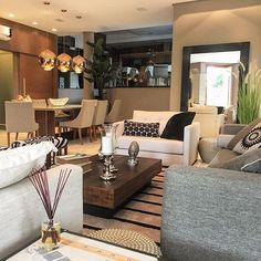 Beautiful shades of grey living room