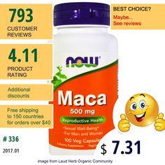 Now Foods #NowFoods #Maca