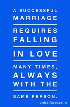 How do you make a marriage last? How can it best the absolute best relationship you've ever been in?