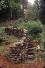 Image result for garden gate dry stone wall