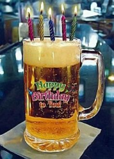 Happy Birthday Beer Images, Happy Birthday Drinks, Happy Birthday Fireworks, Happy Birthday Wishes Song, Happy Birthday In Spanish, Happy Birthday Decor, Happy Birthday Posters, Happy Birthday Celebration, Happy Birthday Messages