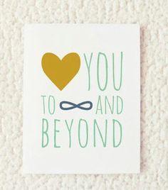 Te amo al infinito y más allá!!! #love #marriage #amor #infinity and beyong