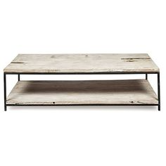 Byron Rectangular Coffee Table with Metal Legs Online Furniture, Home Furniture, Furniture Design, Outdoor Furniture, Industrial Table, Industrial Furniture, Dream Home Design, House Design, Coffee Table Rectangle
