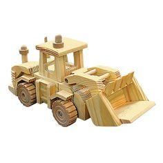 Kustom Wood Toy Truck or Train Building Kit | One Step Ahead  $14.95