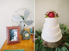 Australiana Wedding Cake by Jonathan David Photography