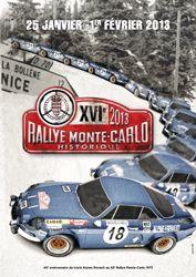 Le XV1ème Rallye Monte-Carlo historique