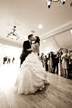 First Dance at their wedding reception in The Perry House Captain's Room