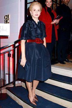 Carolina Herrera's Red-Carpet Rules Mature Fashion, 60 Fashion, Office Fashion Women, Over 50 Womens Fashion, Modest Fashion, Fashion Outfits, Fashion Design, Fashion Weeks, London Fashion
