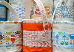 ikat bag: Lunch Bucket Pattern!...wonder if I could figure this out without a pattern?