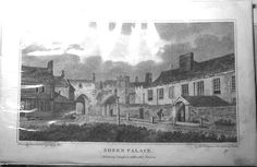 The lost palace of Sheen…er, Richmond…. Richmond Palace, Richmond Surrey, Richmond London, Old Photos, Vintage Photos, Deer Park, Vintage London, Local History, Antique Prints