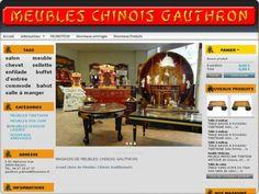 Spécialiste du mobilier chinois laqué, nous vous offrons aussi des meubles de style chinois traditionnel ancien ou copies d'ancien, tibétain, façon cuir