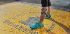 Lee Ann Yanni, survivor. | Incredible Portraits Of Boston Marathon Survivors With Messages Of Healing And Hope To The World
