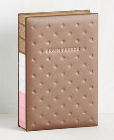 An ice cream sandwich notebook to write in when you're having a bit of a brain freeze. | 27 Products That Are Almost Too Clever To Use