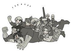 Twilight - Gilda - Doug, Galahad, Hausen, Lancelot, Arthur, Gawain - Gangsta. - Koshke - Twitter