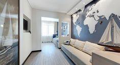 интерьер детской комнаты из проекта, реализованного дизайнером Аленой Чашкиной.