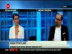 360 TV Ekonomi Sayfası Programında Reyhan Baysan'ın konuğu olan Sezon Pirinç Yönetim Kurulu Başkanımız Mehmet ERDOĞAN kuraklığın bakliyat fiyatları üzerindeki etkisini değerlendirdi.